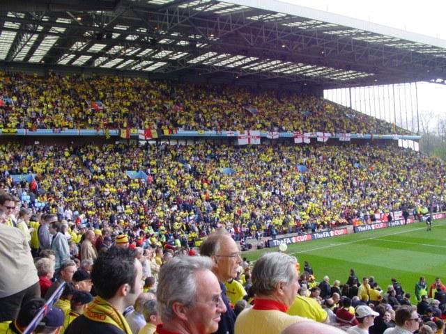 187 Away Fans Views Watford A