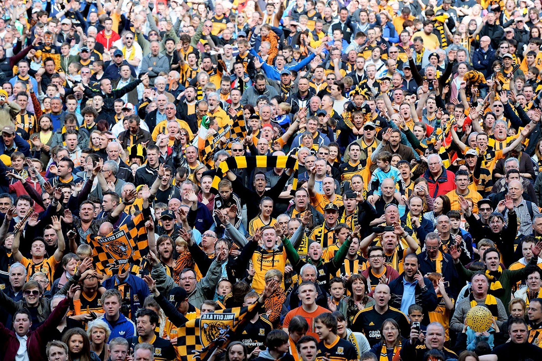 187 Hull City Tigers Stake Their Claim For The Tinpot Crown
